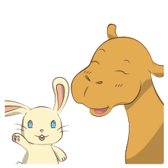 Bunny and Camel